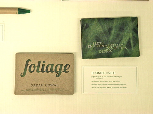 Foliage - Business Cards | by sarah.cowal