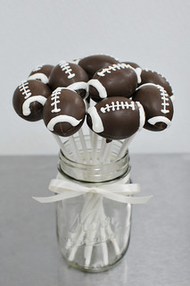 footballs | by Sweet Lauren Cakes