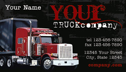 Trucking company business card black business cards weddin flickr trucking company business card black by printfirm colourmoves
