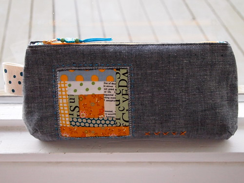 pouch for pretty {little} pouch swap | by Spotted Stone Studio {Krista}