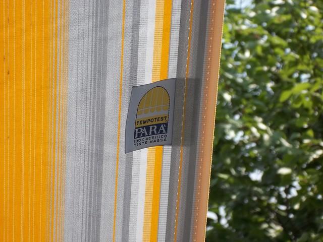 Tessuto tenda da sole con cucitura Tenara