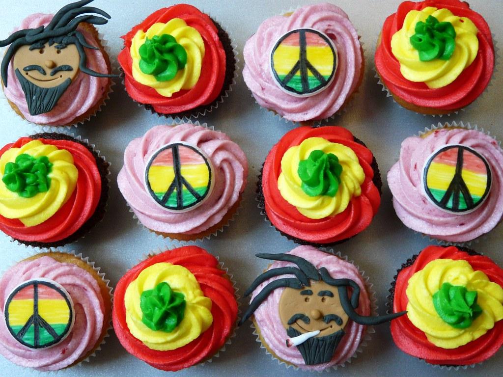 Google themes rasta -  Hey Mon Rasta Cupcakes By Sugar Daze