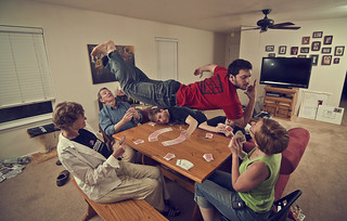 150/365  Levitation VI: Card Game | by Erich Leeth