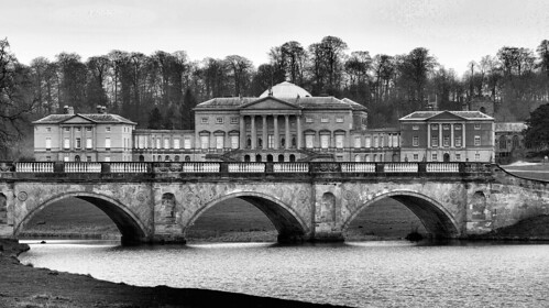 Kedleston Hall BW | by RS's Photography