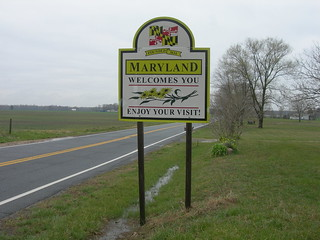 Welcome to Maryland | by jimmywayne