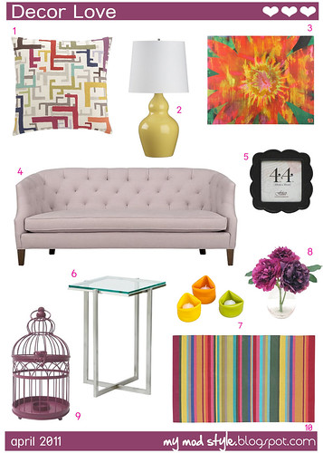 Decor Love April 2011 | by Jessie {Creating Happy}