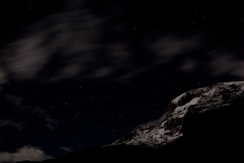 Kilimanjaro at night | by Sha Sha Chu