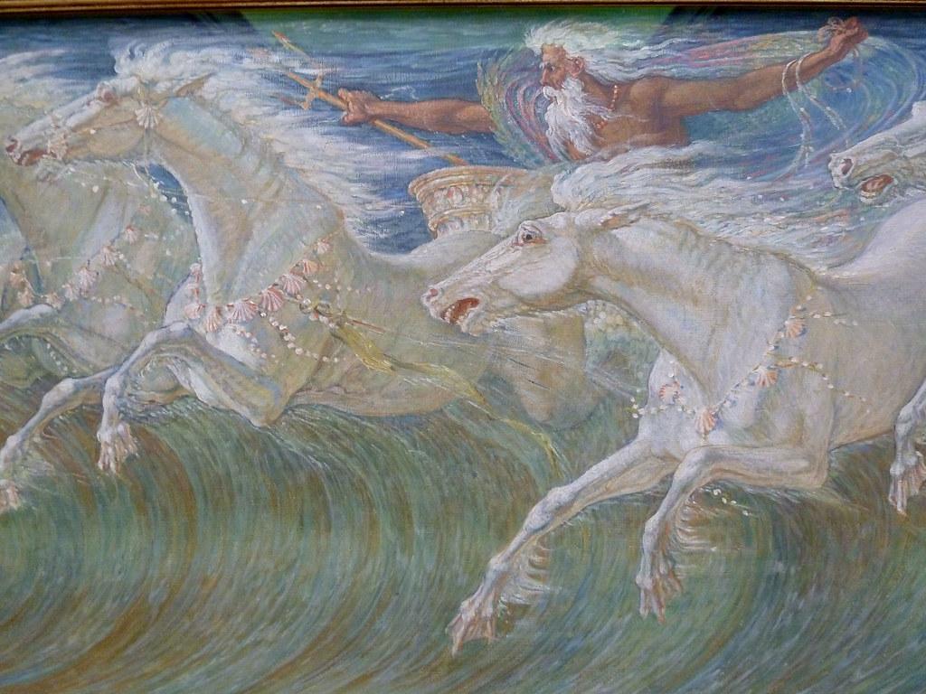 Neptune'-s Horses by Grant Devereaux