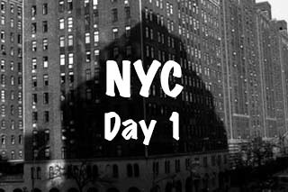 NYC Trip - Day 1 (Saturday March 26th, 2016)