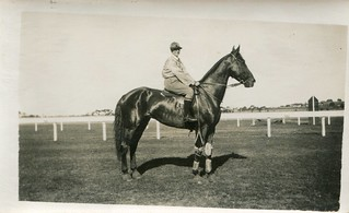 Unknown racehorse (c.1920s) | by pellethepoet