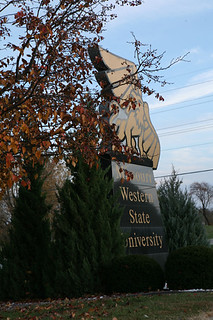 The BIG Griffon Greets You at the MWSU Main Entrance | by Missouri Western (MWSU)