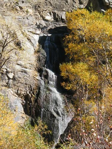 Bridal Veil Falls in Spearfish Canyon, South Dakota