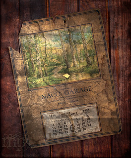 Roland School 2010: Old Naco Garage calendar | by McCormick Photography