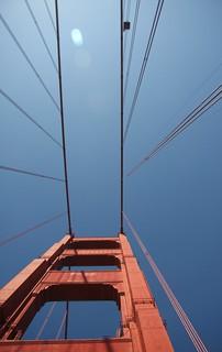 towering bridge taken from a convertible mustang with the top down | by grwsh.marcel