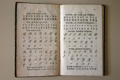 deutsche handschrift buchstaben alphabet charts in a bilin flickr. Black Bedroom Furniture Sets. Home Design Ideas