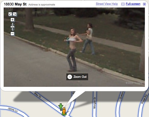Google earth nude