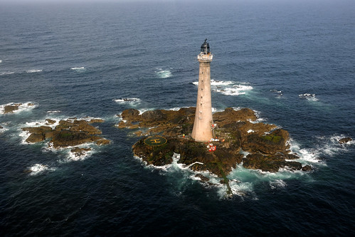 Skerryvore Lighthouse aerial view | by iancowe