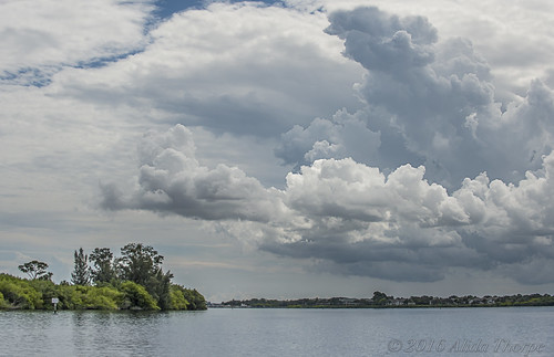 St. Lucie River Storm