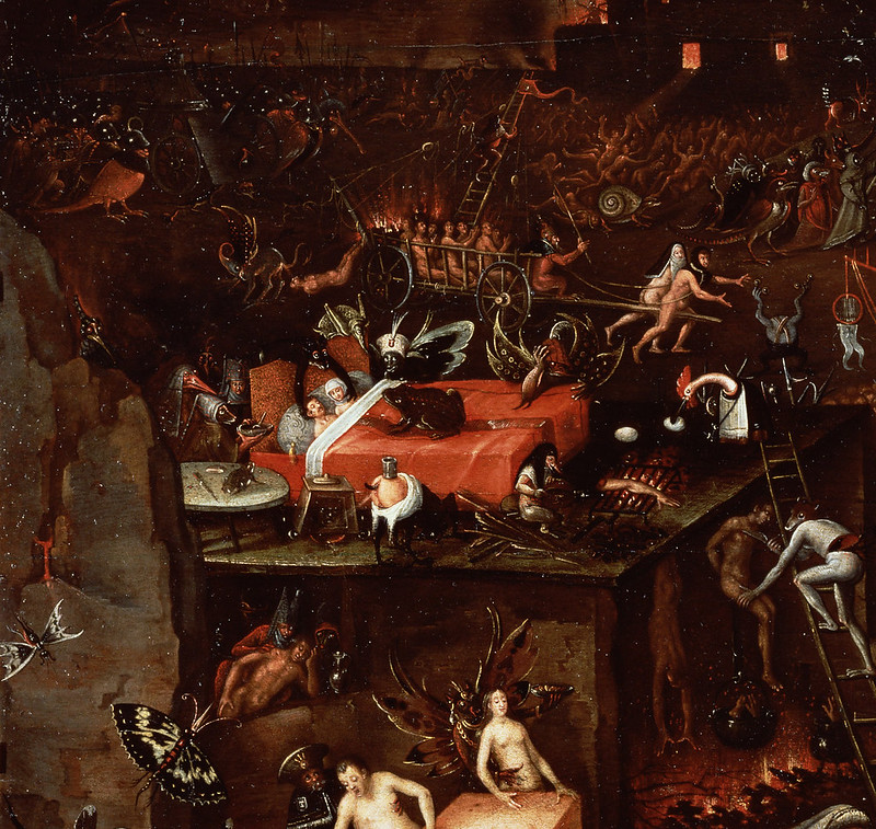 Herri met de Bles - The Inferno, detail 1, 16th C