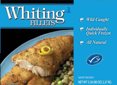 Certified sustainable whiting fish in 2006 walmart and for Whiting fish at walmart