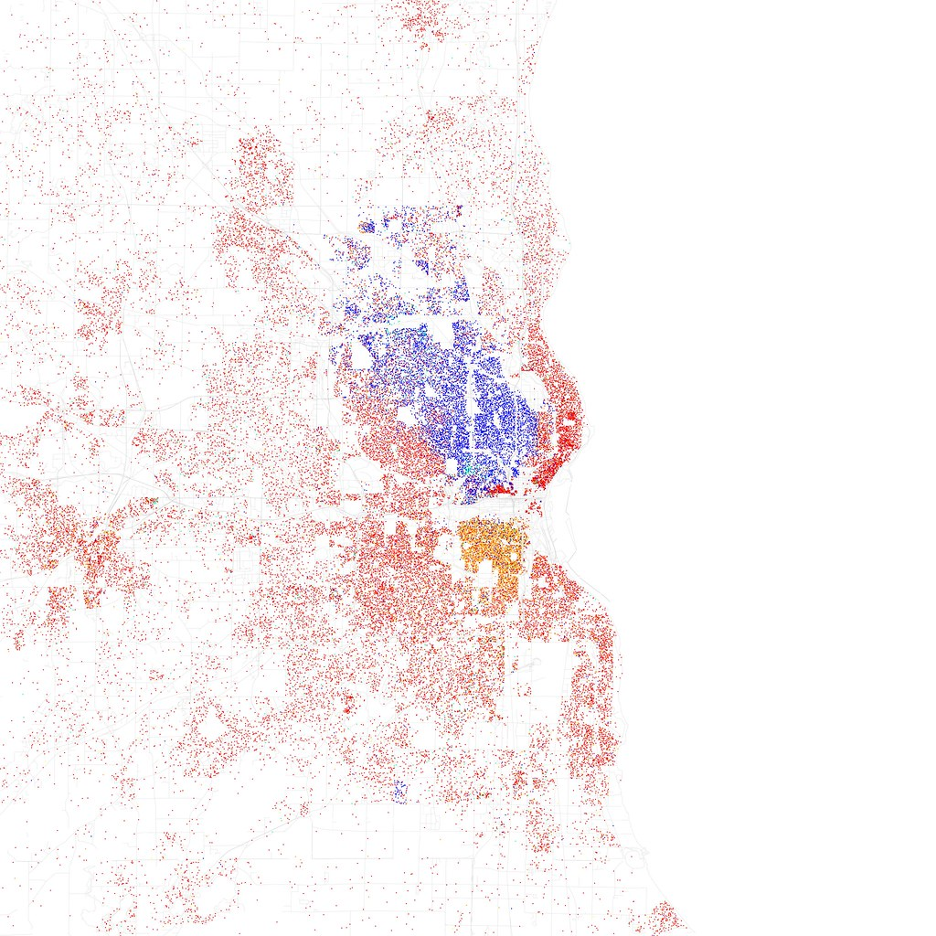 Race And Ethnicity  Flickr - Washington dc map by race
