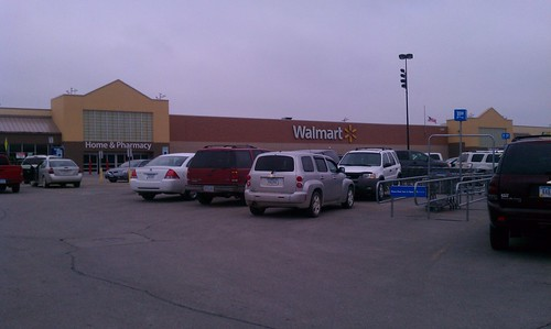 Wal Mart Indianola Iowa This Is The Wal Mart Where I