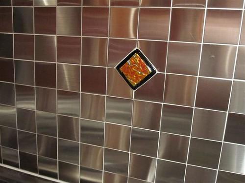 Backsplash Accent Tiles By Uneek Glass Fusions Dichroic