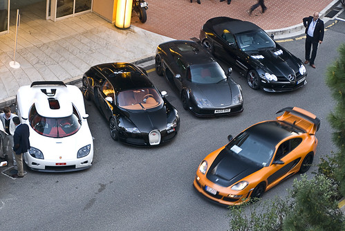 Koenigsegg CCX, Bugatti Veyron Sang Noir, Noble M600, McLaren Gemballa SLR Roadster and Gemballa Avalanche GTR 800 EVO-R in Monaco EXPLORED! #2 Top Marques 2011 | by piolew