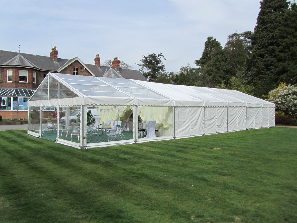 ... Marquee tent with clear roofs walls and gable end by Churchill Marquees | by Churchill & Marquee tent with clear roofs walls and gable end by Churu2026 | Flickr