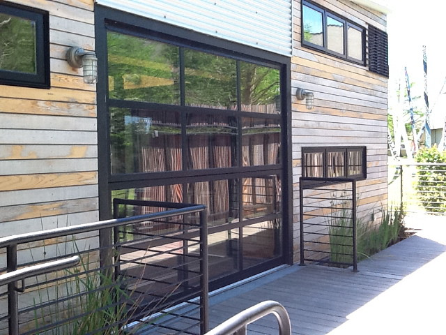 Renlita Overhead Bi Fold Doors Renlita Series 3000 Vertica Flickr