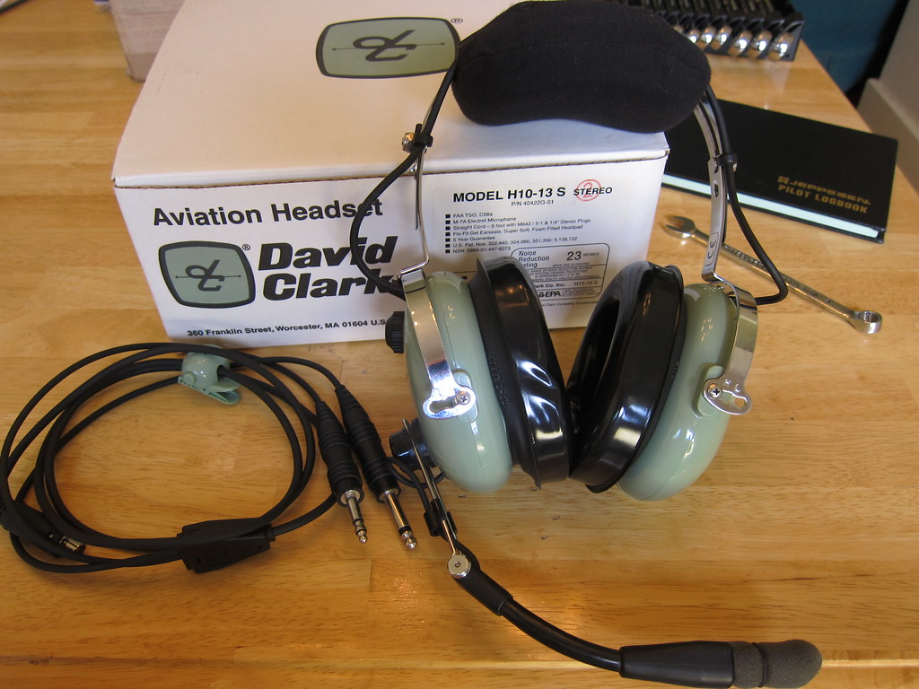 by tobo My new David Clark H10-13.4S headset! | by tobo