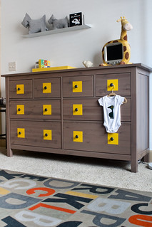Adding some flair to the plain IKEA dresser | by suzz