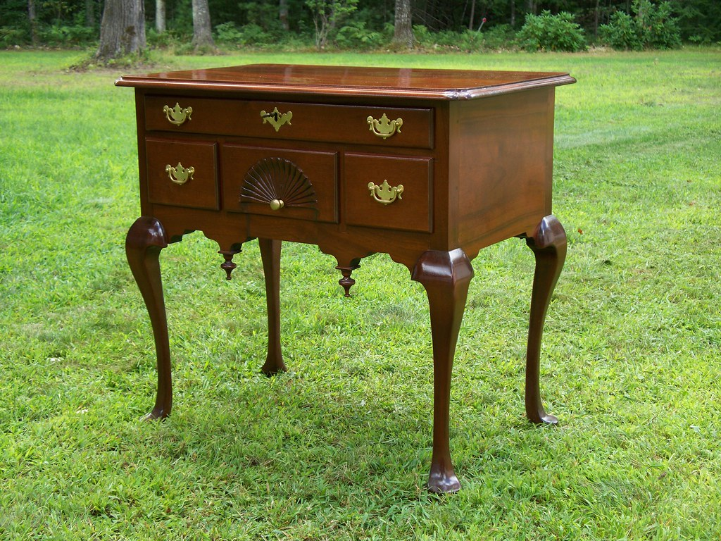 ... Queen Anne Lowboy By Doucette And Wolfe Furniture Makers | By Doucette  And Wolfe Furniture Makers