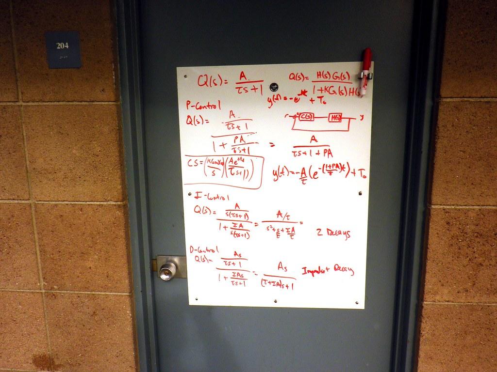 ... Dorm Door White Board, Claremont McKenna College, Claremont, CA, USA