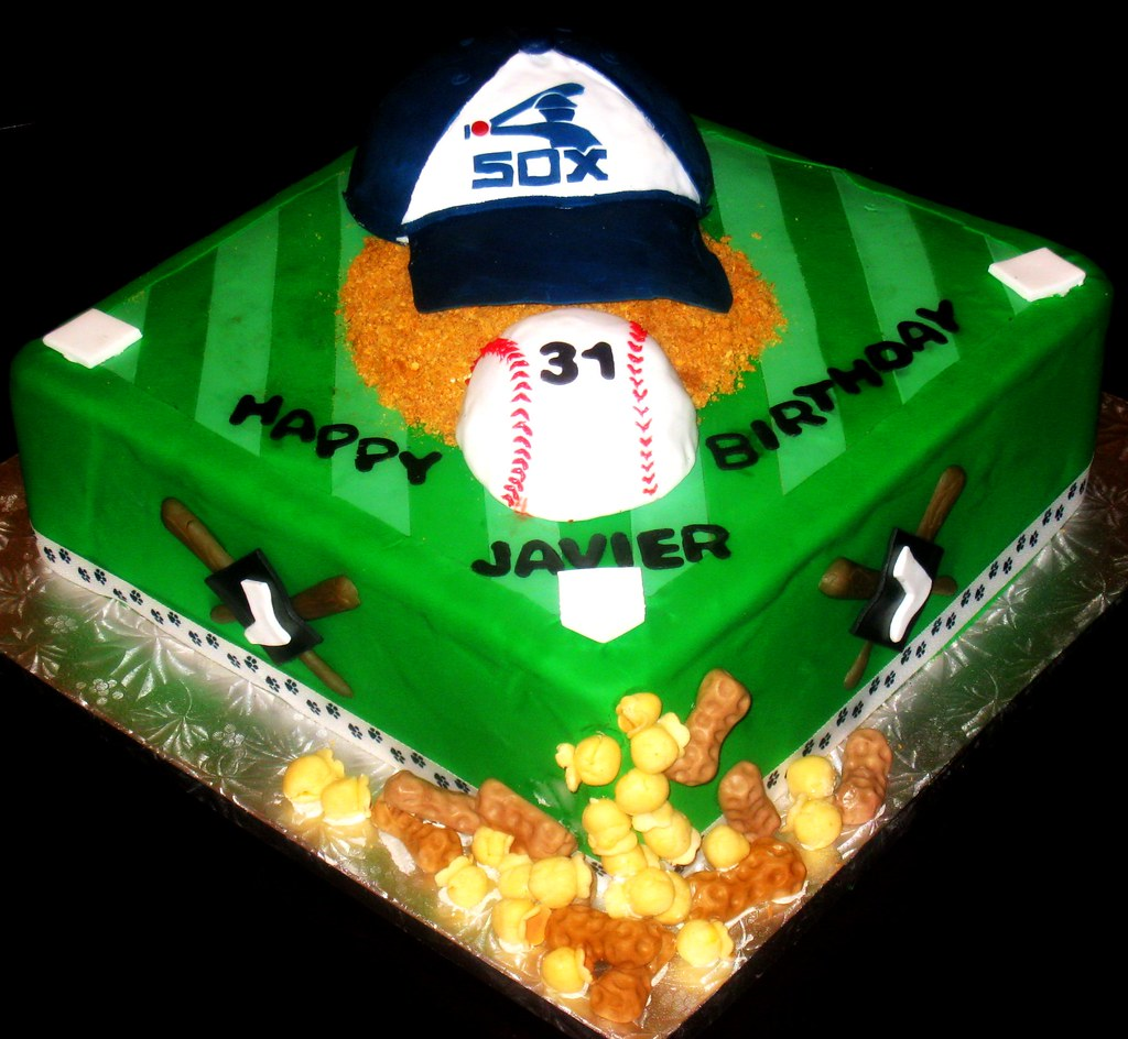 Chicago White Sox Birthday Cake Chicago White Sox Hat And Flickr