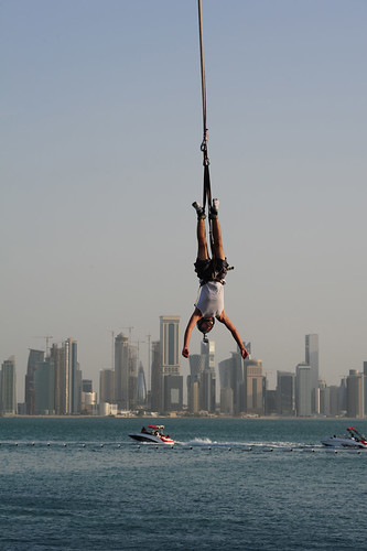Bungee Jumping at the Peal Qatar | by SJByles