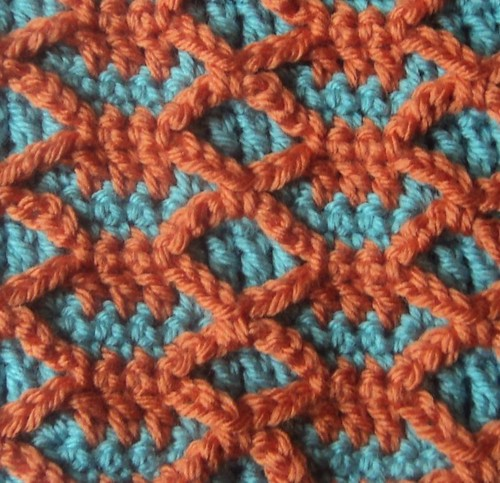 congo Crochet Stitch Visual Encyclopedia Color Chapter Red ...