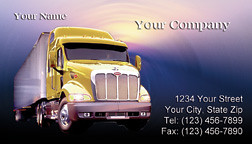 Trucking company business card yellow truck business car flickr trucking company business card yellow truck by printfirm colourmoves