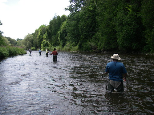 Group fly fishing lessons graham bristow flickr for Fly fishing classes