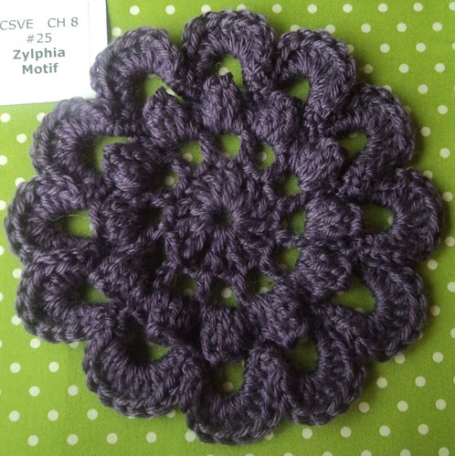 Crochet Stitches Visual Encyclopedia Free : zylphia motif Crochet Stitch Visual Encyclopedia Flower an ...