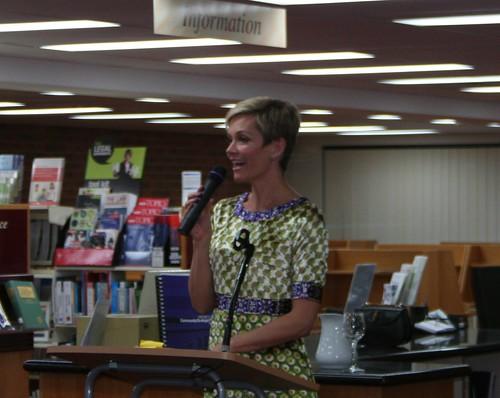 Jessica Rowe Jessica Rowe Spoke At Mosman Library On border=