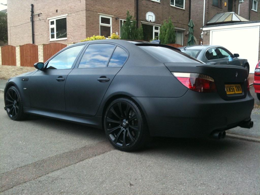MATTE BLACK BMW E60 M5 REPLICA