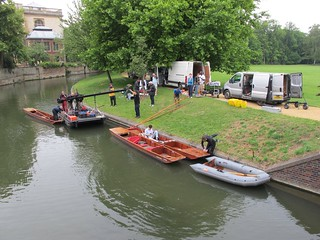 Filming a punt on the Cam | by Major Clanger