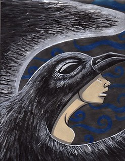 Crow Hood | by Sharsee Vason