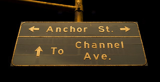 Anchor St./To Channel Ave. | by Curtis Gregory Perry