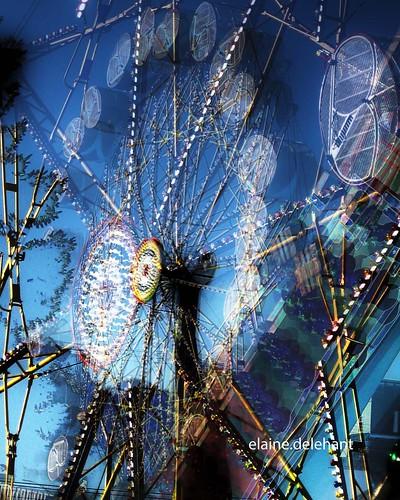 Digitalrevolution Blog Retro Sci Fi: Dandelion Space Colony Ferris Wheel, HDR, Retro Futurism