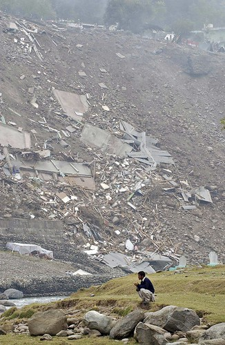 Pakistan Quake Devastation from Air | by United Nations Photo