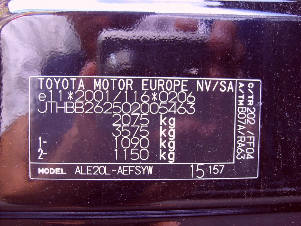 Lexus Vin Number >> Lexus Is 220d 03 2006 Vin Number Jthbb262502005463 Flickr