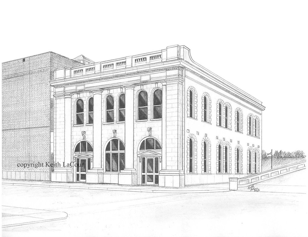 Old Rapides Bank Building Alexandria LA 1898