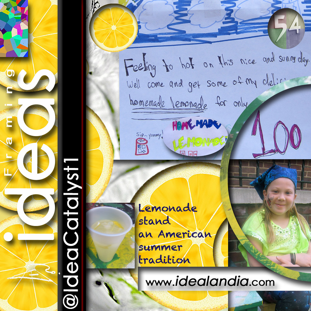 Insta 2014 Ideas Lemonade stand | Kudos Thyra best #entrepre
